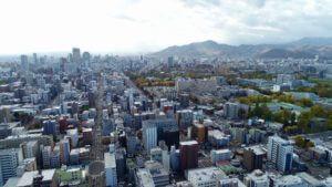 札幌ドローン撮影